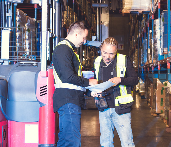 contact warehousing